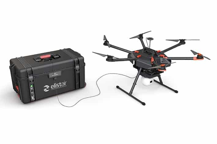Elistair Safe-T tethered drone system
