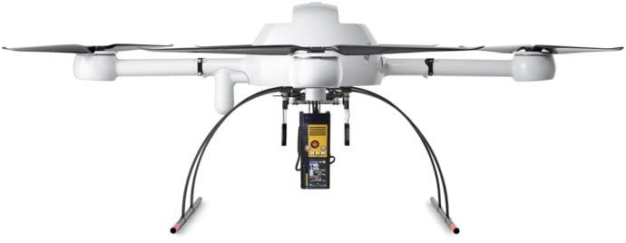 Microdrones mdTector methane detection drone