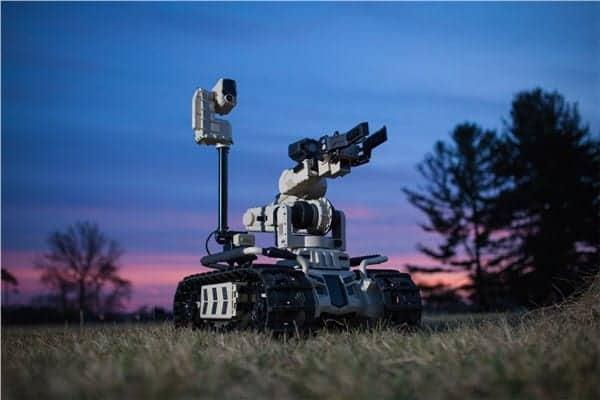 Roboteam military UGV