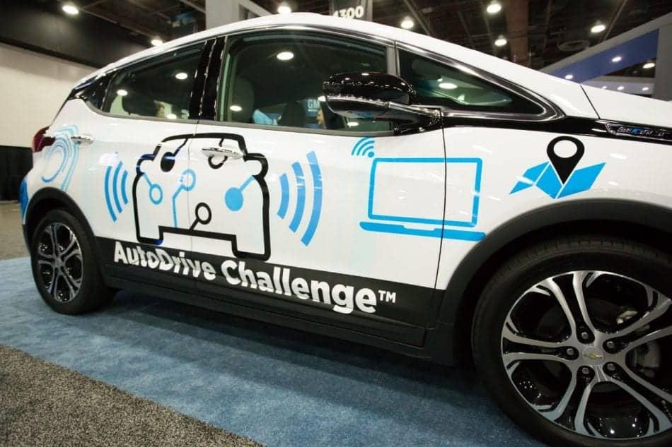 SAE Autodrive Challenge autonomous car