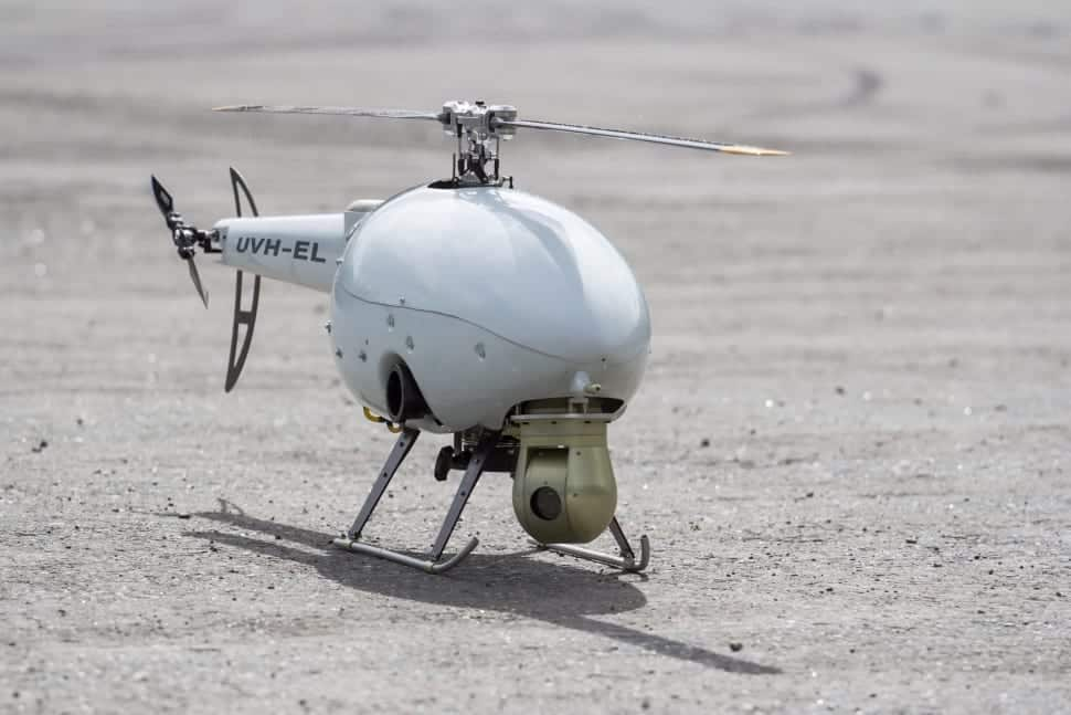 Uavos unmanned helicopter