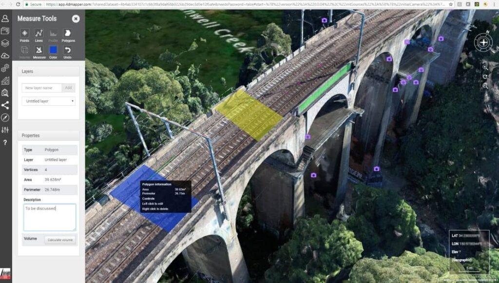 Verity Mapper drone bridge inspection