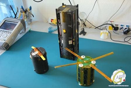 Integration of the TubeSats into the TuPOD by the GAUSS team in Rome-LOW