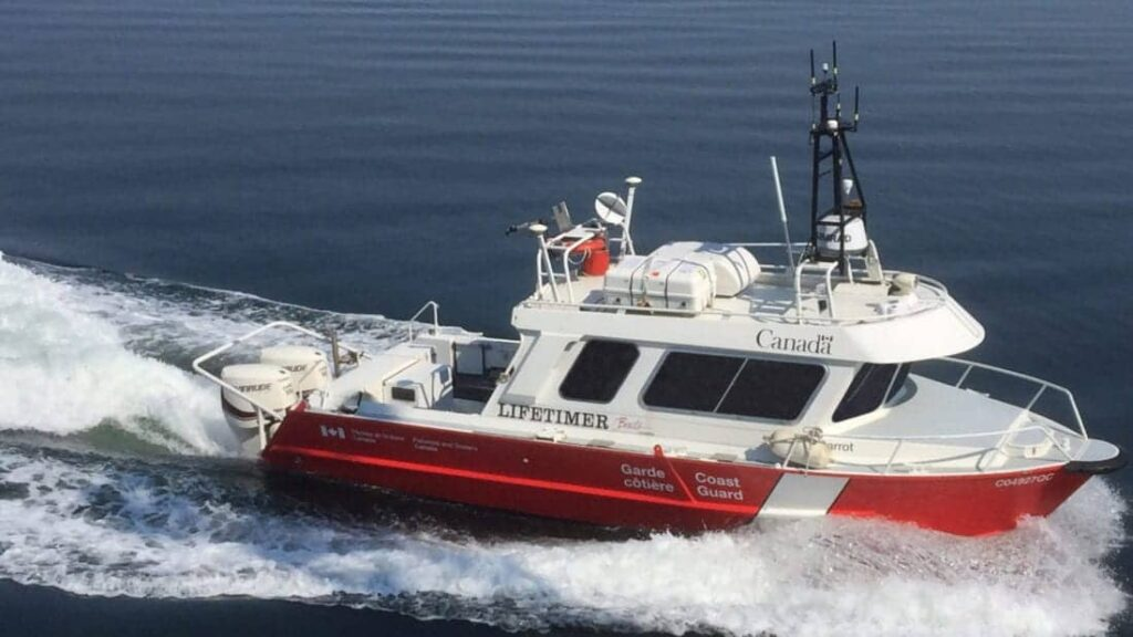 ASV Global unmanned vessel for Canadian Hydrographic Service