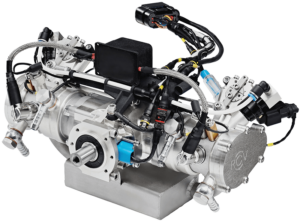DF70LC Twin-Cylinder Liquid Cooled Engine
