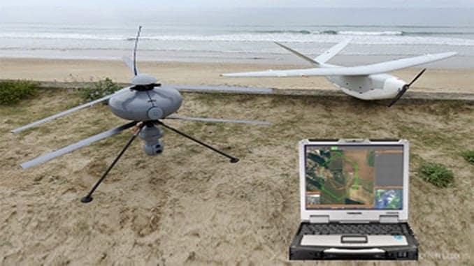 Delair and ECA Group UAV ground control station