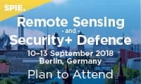 SPIE Remote Sensing and SPIE Security + Defence