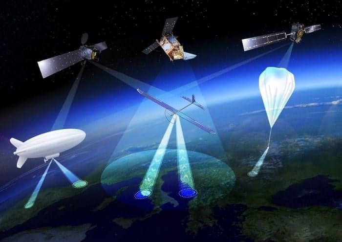 High-altitude UAV concept diagram