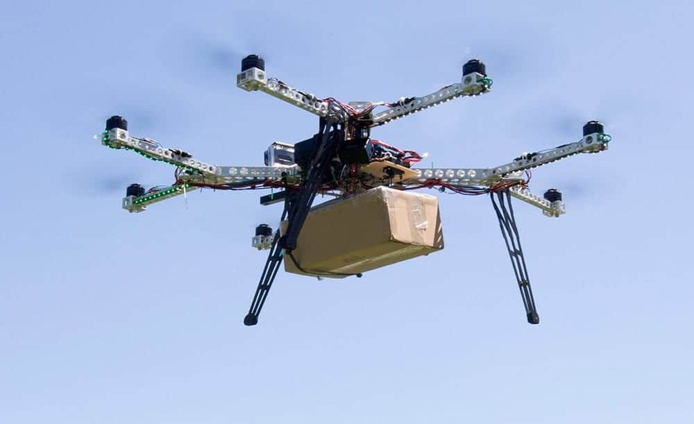 Horsefly delivery octocopter drone