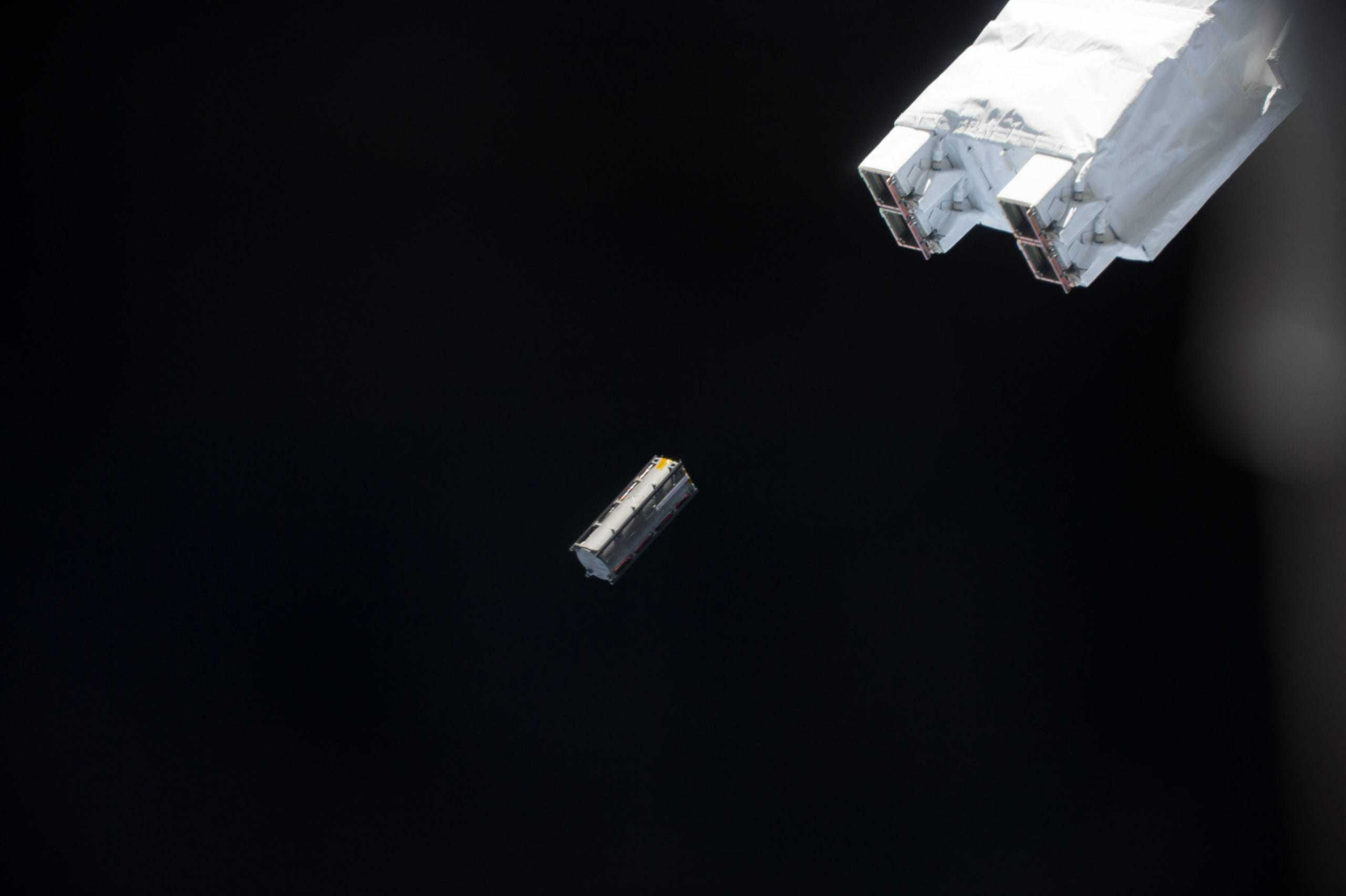 Launch of CRP USA TuPOD satellite from ISS