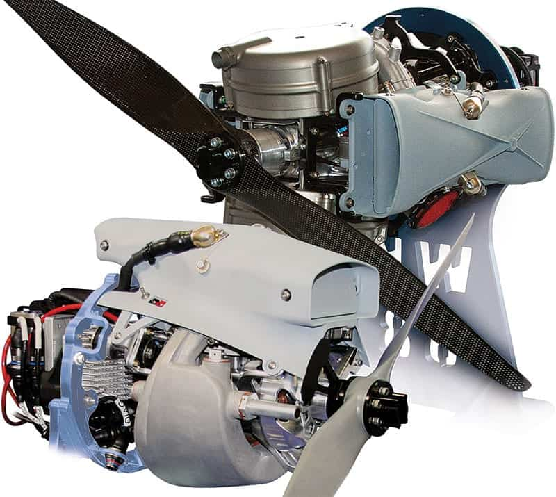 NWUAV small COTS UAV Engines