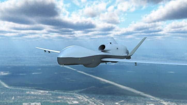 Northrop Grumman MQ-4C Triton UAS