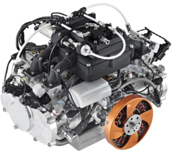 DF140LC Four-Cylinder Liquid-Cooled Engine