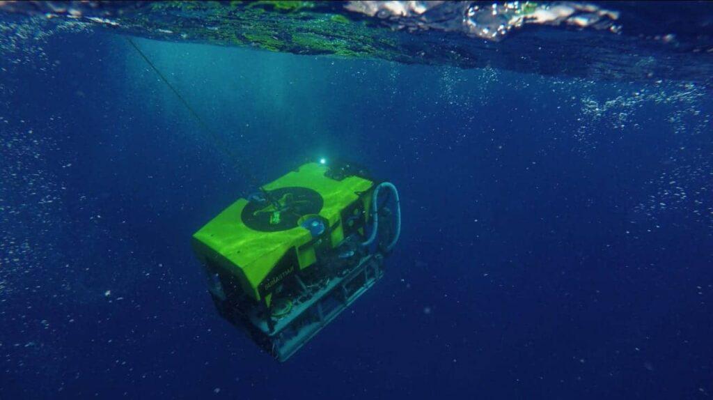 Schmidt Ocean Institute ROV SuBastian