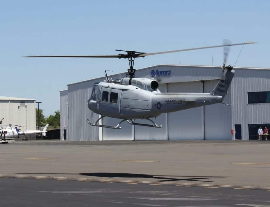 UH-1H Optionally Piloted Aircraft helicopter