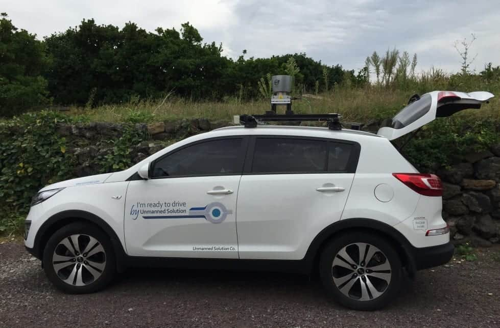 UMS autonomous vehicle