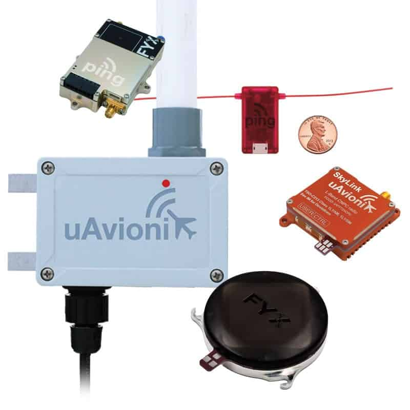 uAvionix Transponders, GPS Receivers and ADS-B Transceivers