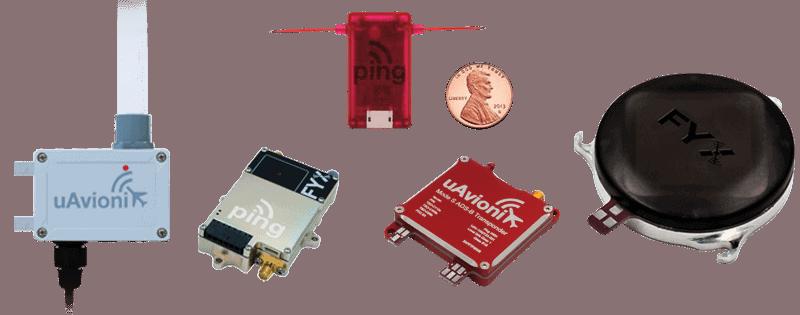 uAvionix transponders receivers transceivers