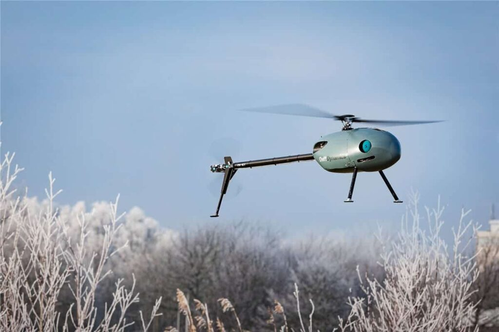 Delft Dynamics unmanned helicopter