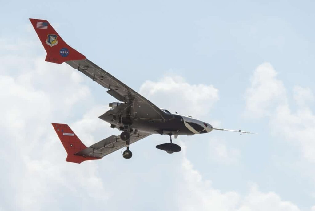 NASA X-56A unmanned aircraft