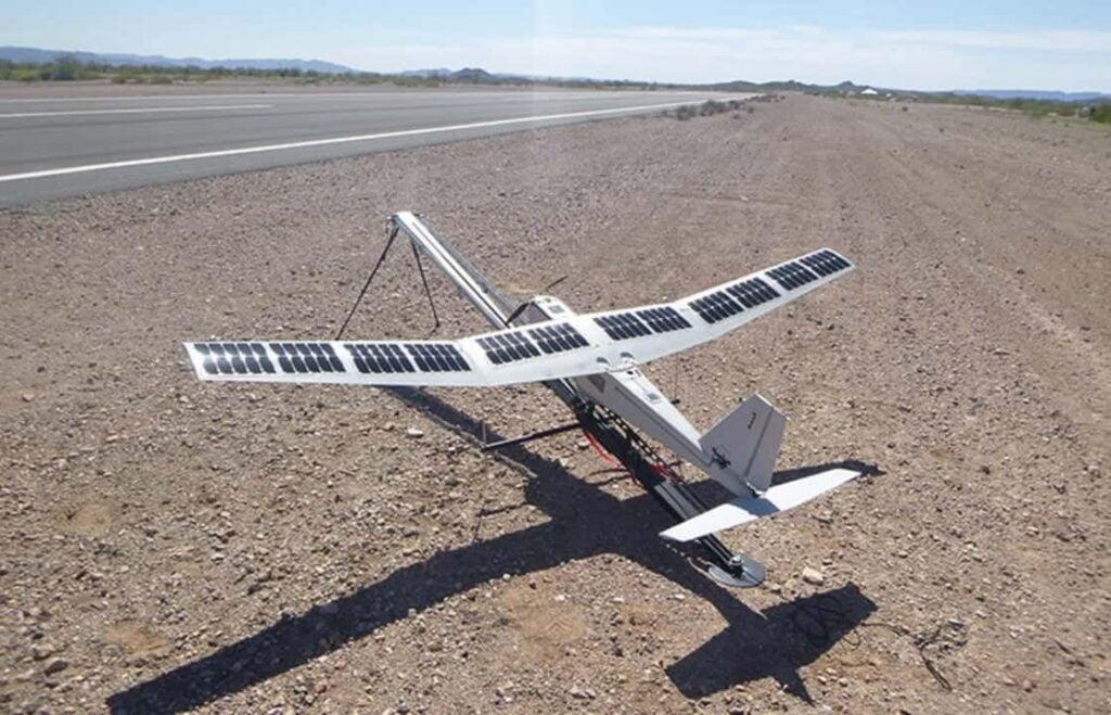 PUMA UAS with solar wings