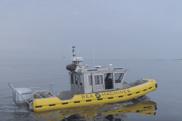 Sea Machines autonomous vessel