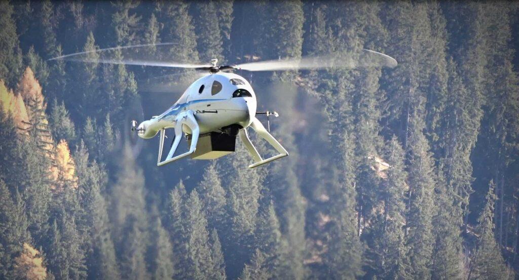 UMS Skeldar R-350 unmanned helicopter