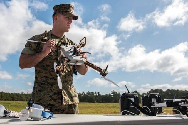 US Army and Marine Corps 3D printed drones