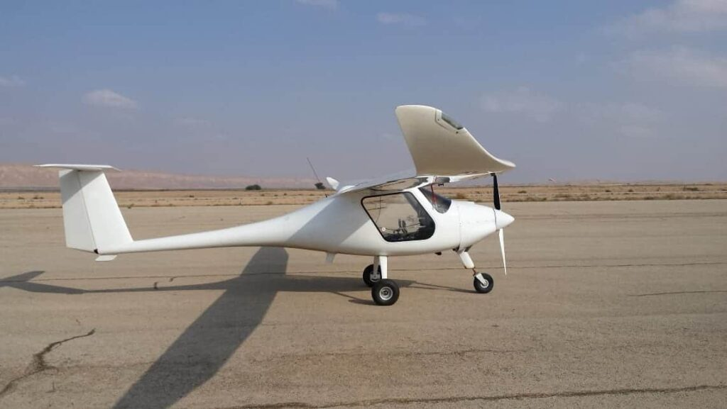 Uavos converted unmanned Pipistrel aircraft
