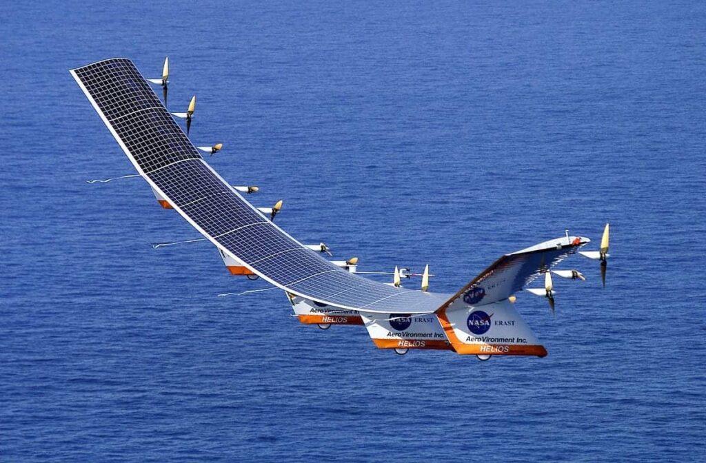 AeroVironment solar powered UAS