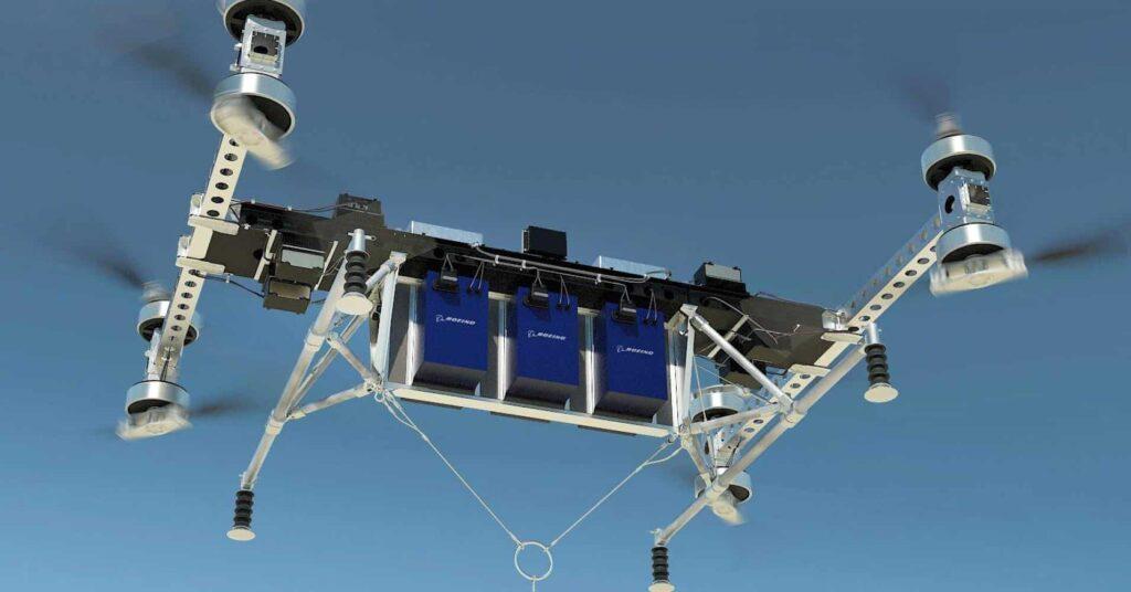 Boeing prototype cargo UAV