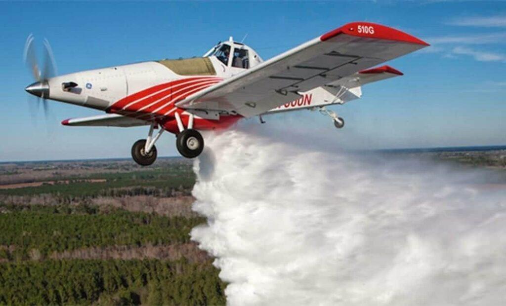 Thrush firefighting aircraft