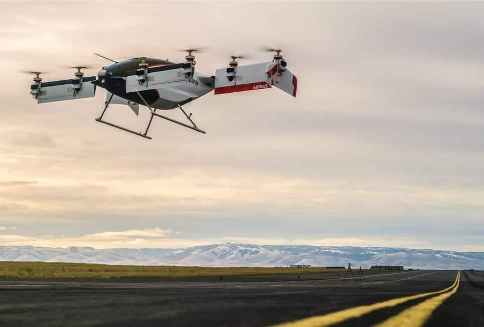 Airbus Vahana VTOL UAS
