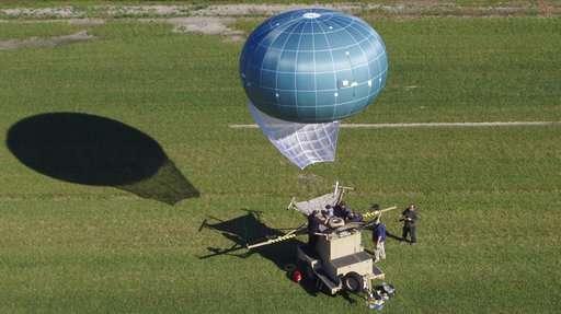 Drone Aviation WASP aerostat