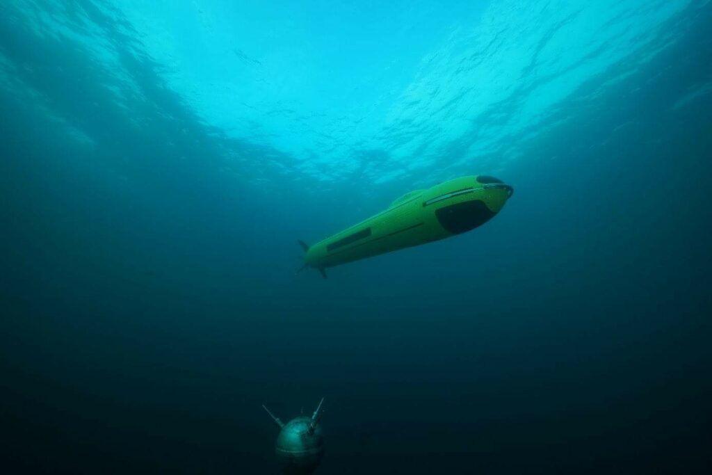 ECA Group counter-mine AUV