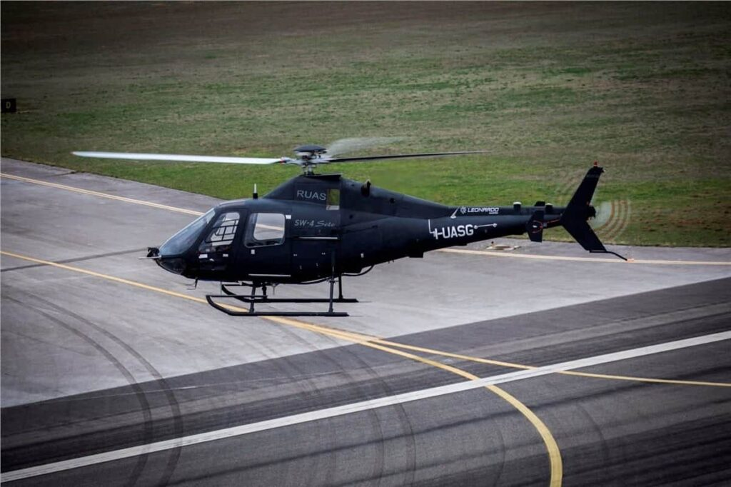Leonardo Solo Optionally Piloted Helicopter