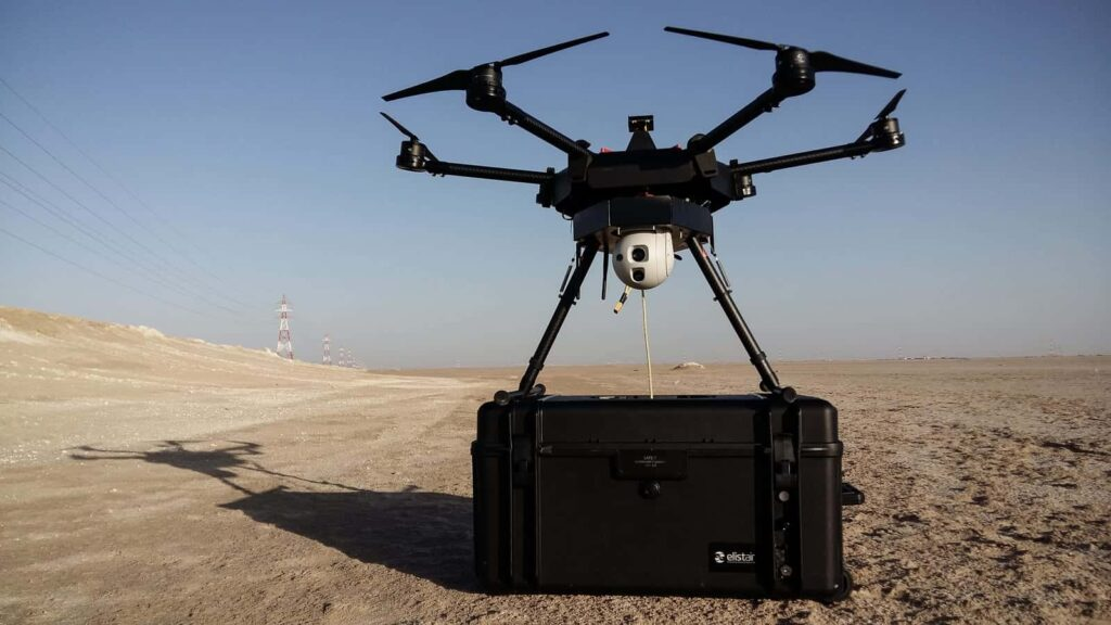 Safe-T Drone Tether System