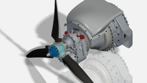 UAV Turbines engine