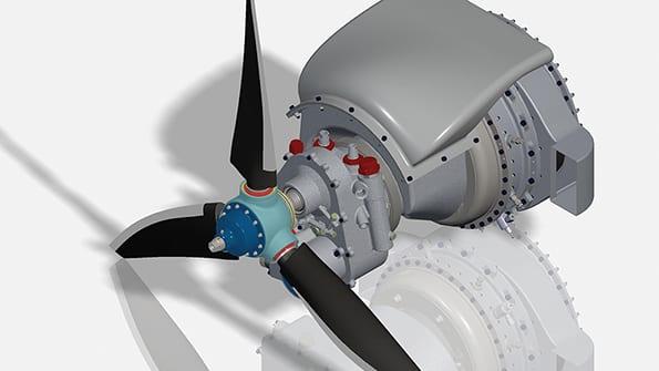 UAV Turbines engine