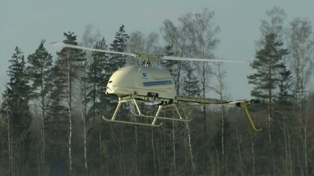 UAVOS Surveyor-H unmanned helicopter