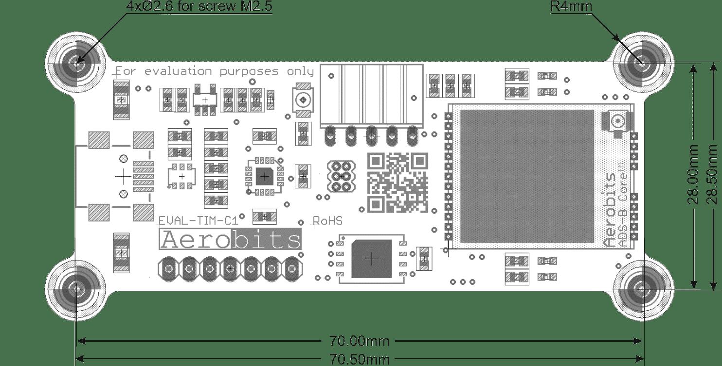 ADS-B UAV Receiver Evaluation Kit specifications