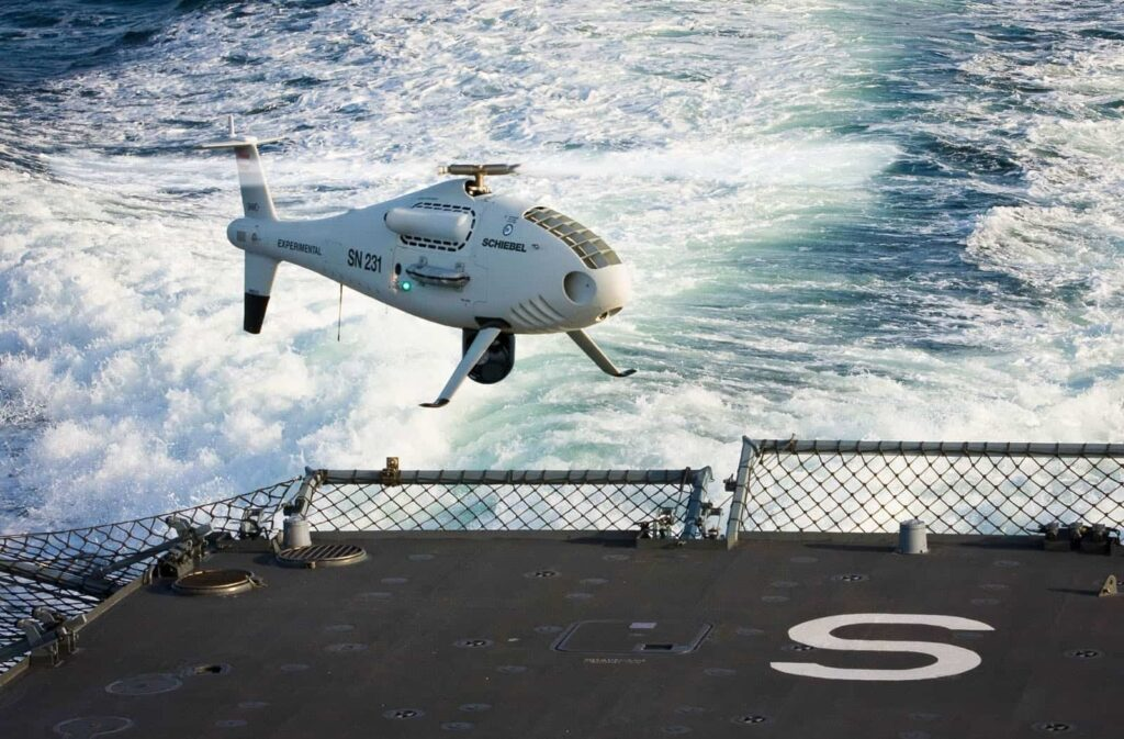 CAMCOPTER VTOL UAV Maritime Applications
