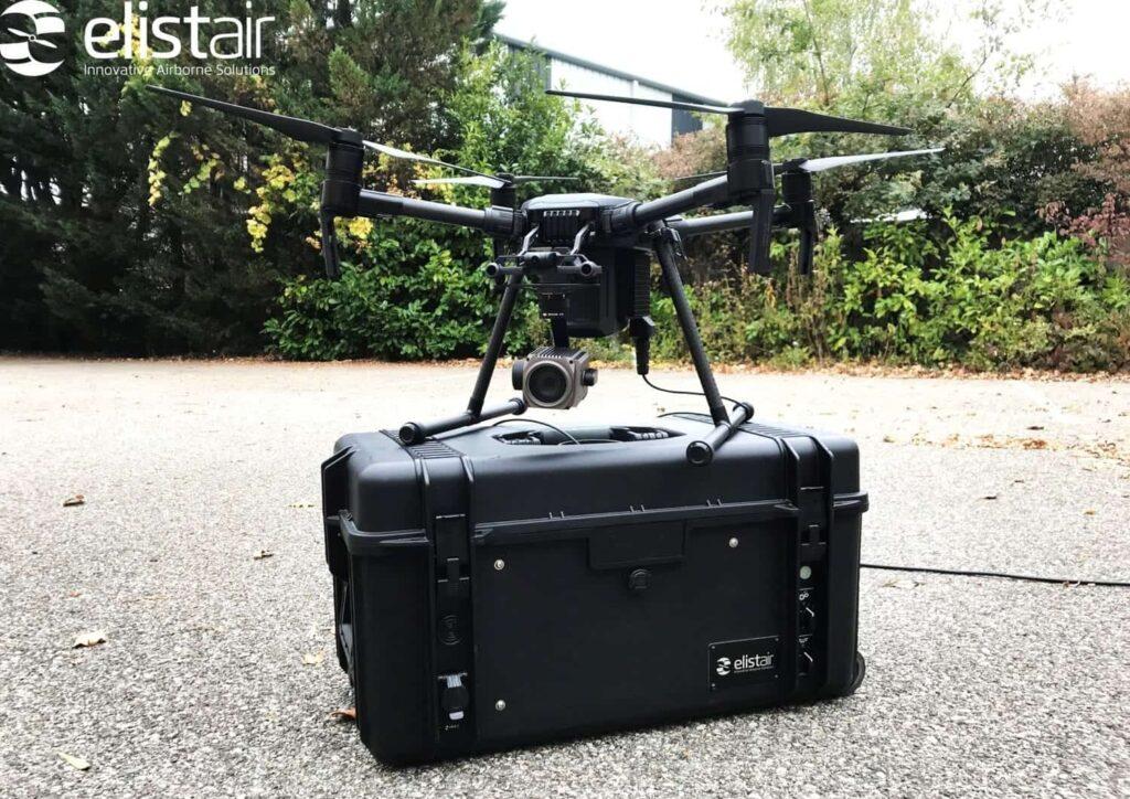 Elistair Safe-T M200 UAV Tethering Station