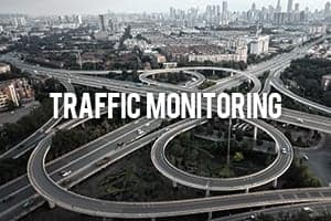 Tethered Drone for Traffic Monitoring