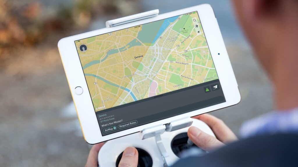 skyguide and Airmap drone traffic management