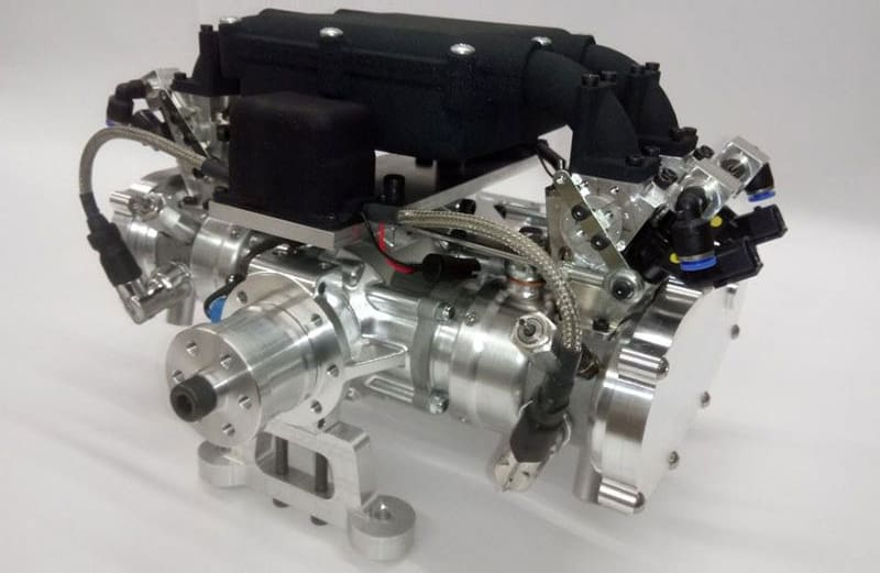 DF140LC Liquid-Cooled Four Cylinder UAV Engine