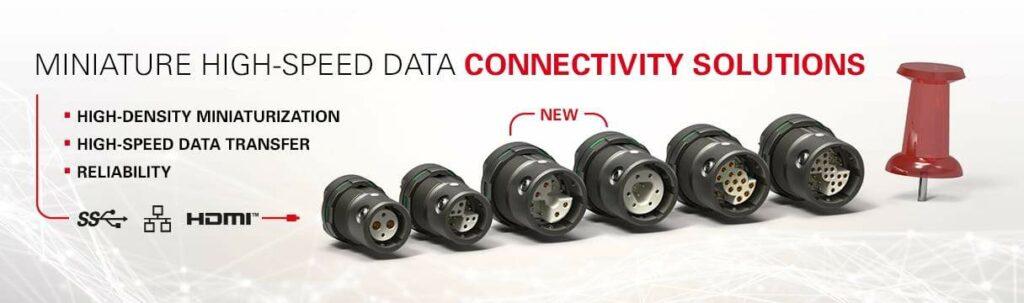 Fischer MiniMax connectors for UAVs