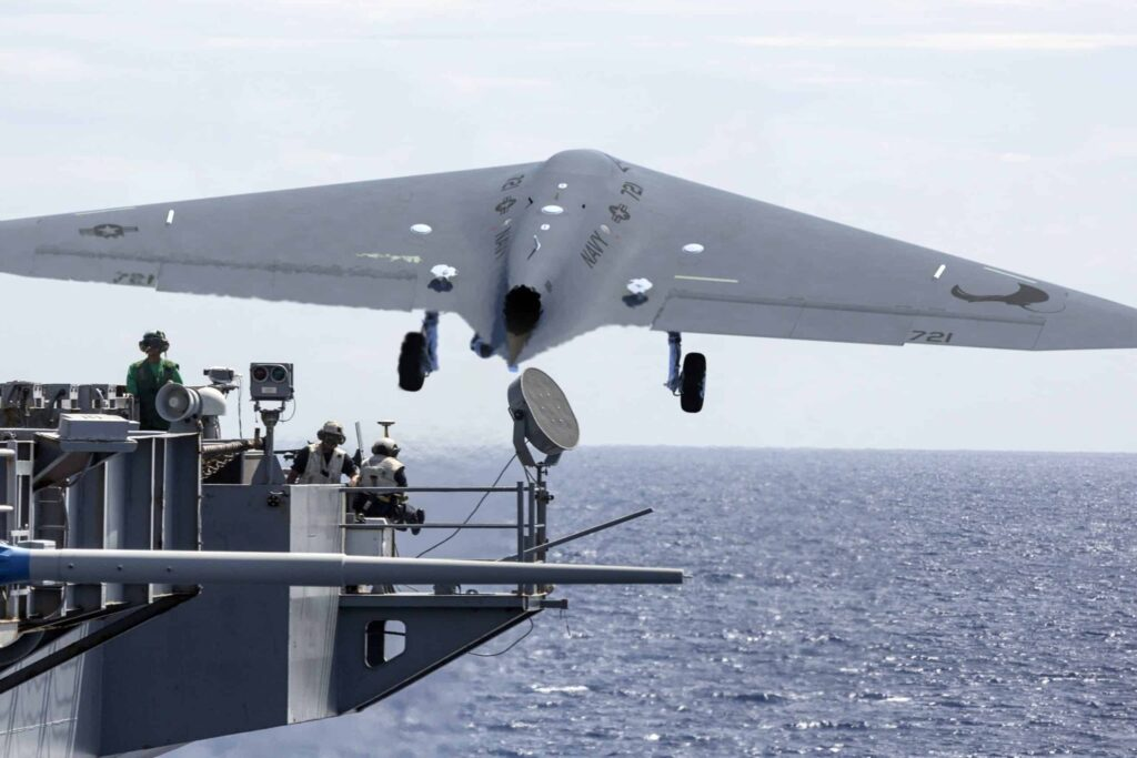 GA-ASI MQ-25 unmanned tanker aircraft