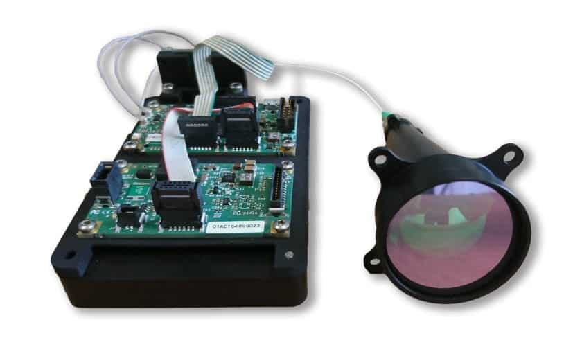 SensUp laser rangefinder