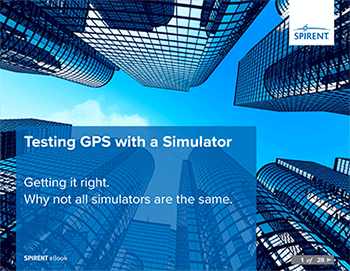 Spirent Testing GPS with a Simulator ebook cover